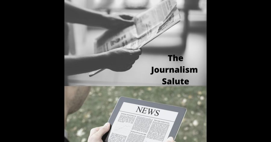 PSJA Director David Cutler on The Journalism Salute